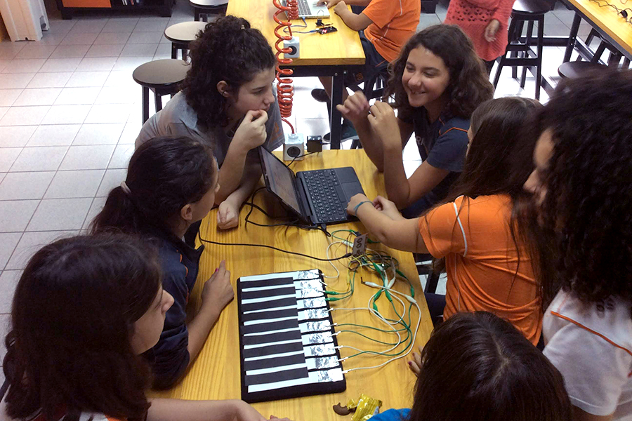 Scratch Day no Rio Branco