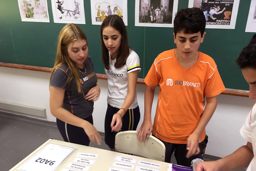 Alunos realizam exposição dos trabalhos sobre os Movimentos Sociais da Primeira República