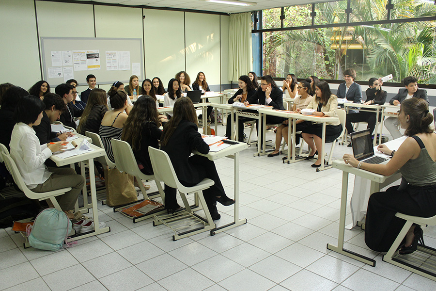 CRBMUN: paz, justiça e instituições eficazes