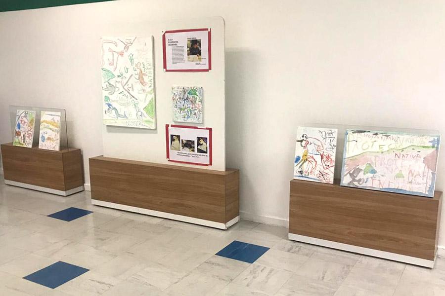 Descobrindo novos talentos: aluno ganha exposição com suas pinturas