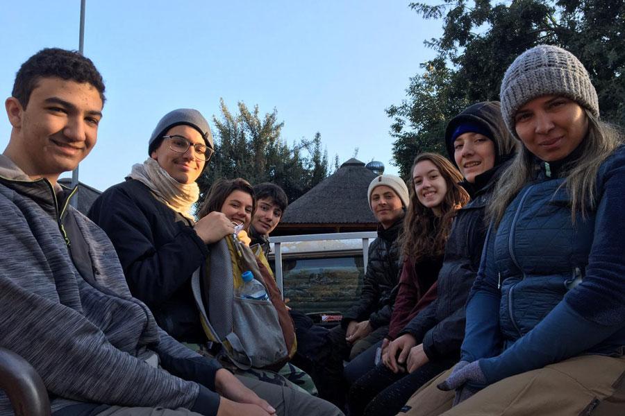 Riobranquinos na expedição científica para África do Sul