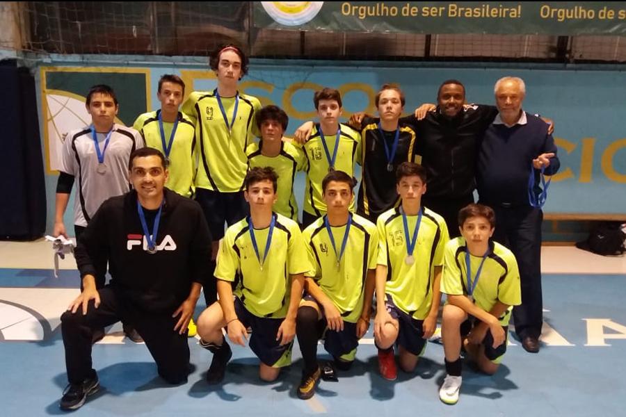 Alunos destacam-se na Liga Alphaville de Futsal