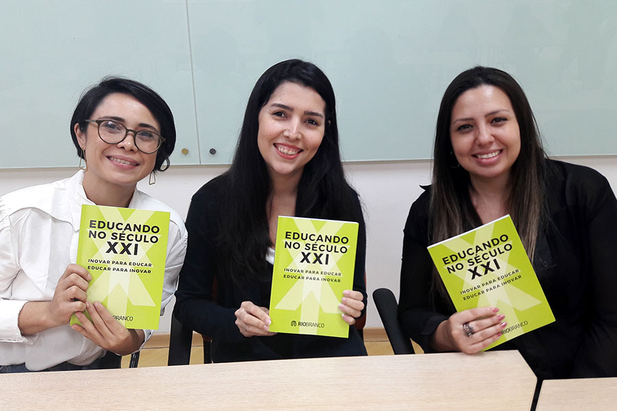 Inovar para Educar, Educar para Inovar: Rio Branco lança livro de educadores