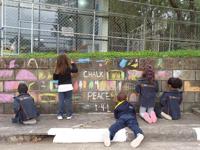 Chalk for Peace