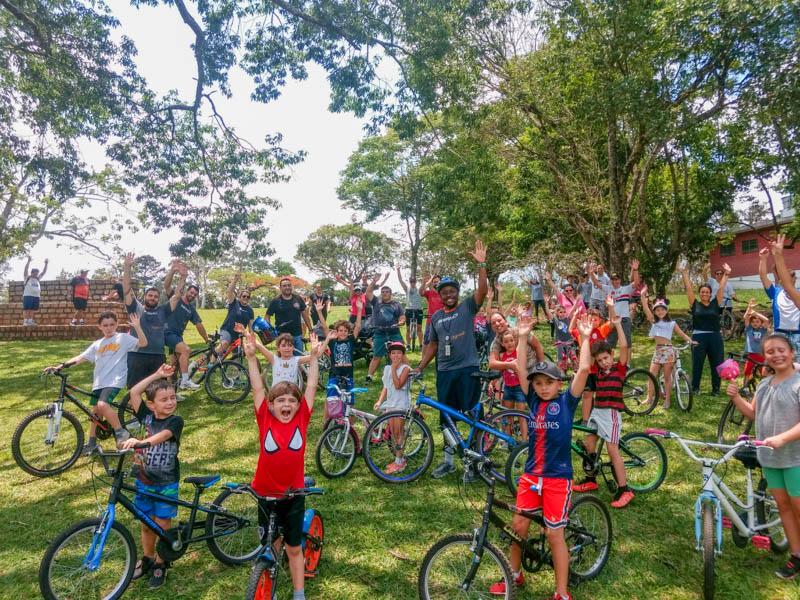 Muita diversão na Bicicletada Rio Branco