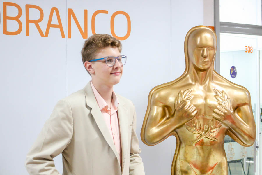Alunos são premiados por curtas metragens em Noite do Oscar
