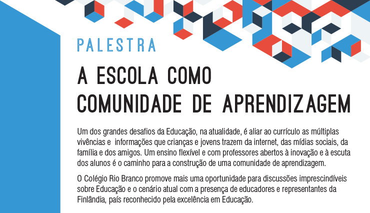A Escola como Comunidade de Aprendizagem