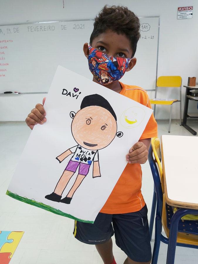 Crianças fazem uma reflexão sobre Amizade e Diversidade