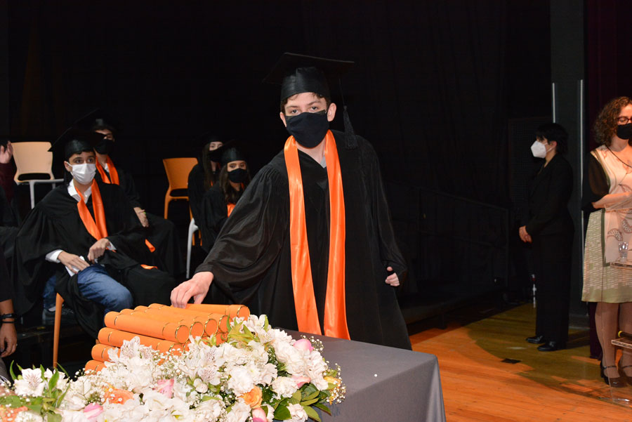 Colação de Grau do 9° ano do Ensino Fundamental da tuma de 2020 - Higienópolis