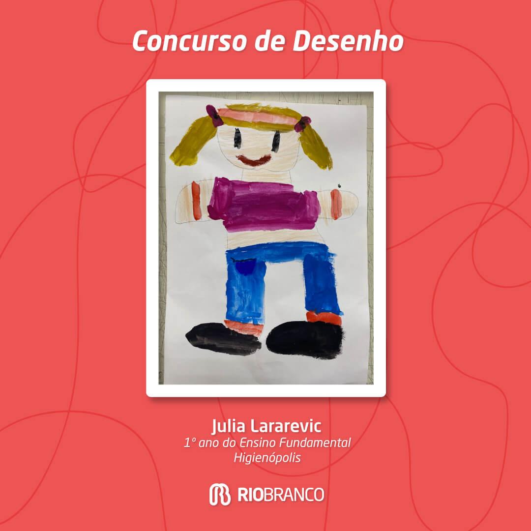 6º Concurso de Desenho: Me deixe ser criança
