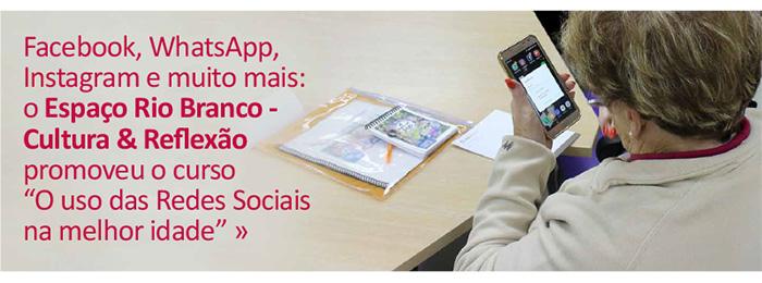 O uso das Redes Sociais na melhor idade