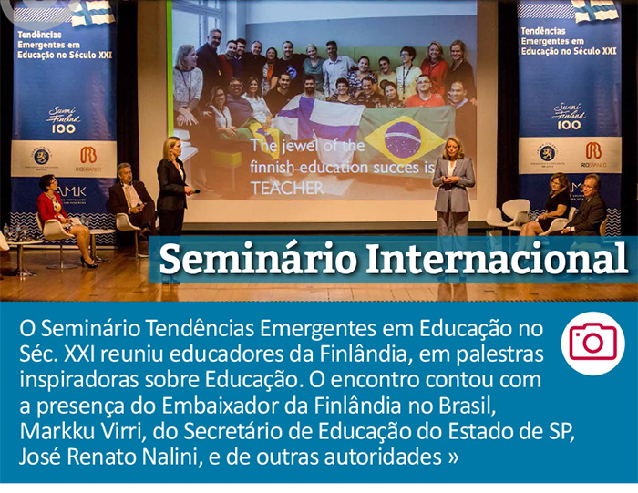 Seminário Internacional - Tendências Emergentes em Educação