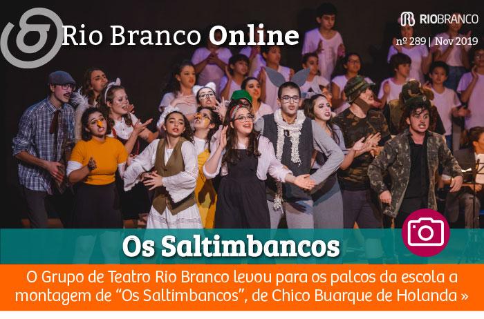"Grupo de Teatro Rio Branco apresentou ""Os Saltimbancos"""