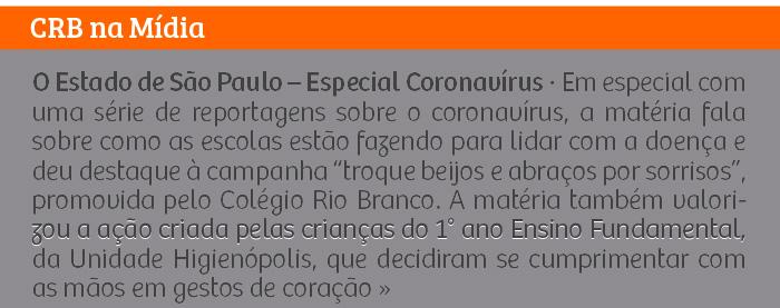 O Estado de São Paulo – Especial Coronavírus