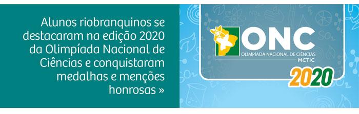 Alunos riobranquinos são medalhistas na Olimpíada Nacional de Ciências