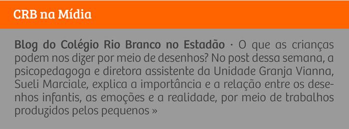  Blog do Colégio Rio Branco no Estadão  Diálogos entre desenho infantil e a realidade: o que as crianças podem dizer