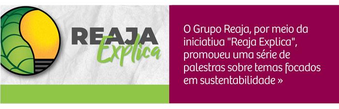 Reaja Explica: encontros online apresentam temas relacionados à sustentabilidade